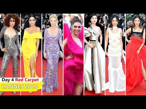 Cannes Film Festival 2018 [ DAY 4 ] Red Carpet | Full Video | Celebrity Dresses