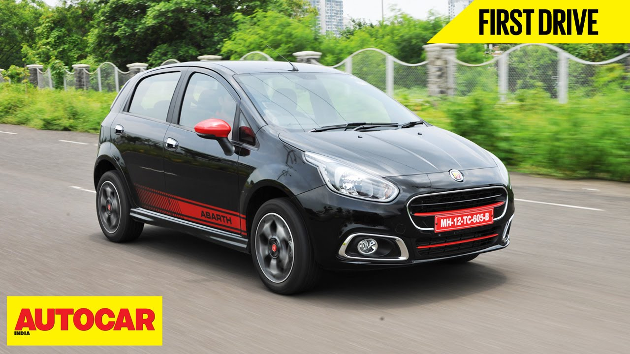 fiat abarth punto evo first drive autocar india youtube. Black Bedroom Furniture Sets. Home Design Ideas