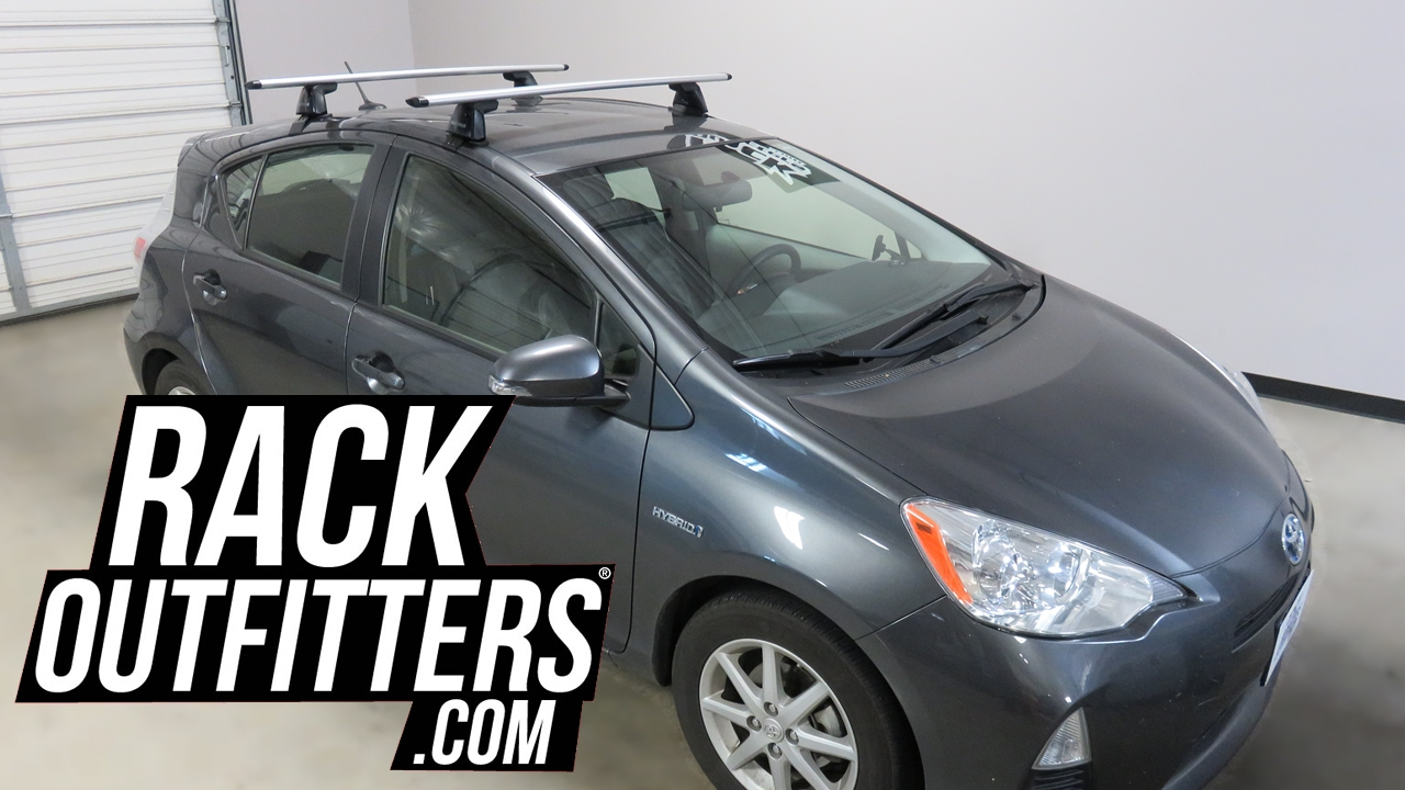 Prius Roof Rack >> Toyota Prius C With Yakima Baseline Jetstream Roof Rack Crossbars