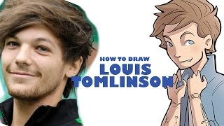 How to Draw Louis Tomlinson (basic tips)