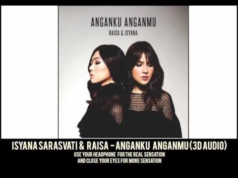 Isyana Sarasvati & Raisa - Anganku Anganmu 3D Audio