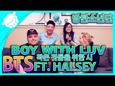 Non-Kpop Fans REACT to BTS (방탄소년단) - BOY WITH LUV (작은 것들을 위한 시) feat. HALSEY