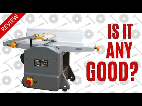 Independent Review - Titan TTB579PLN 204mm Planer Thicknesser
