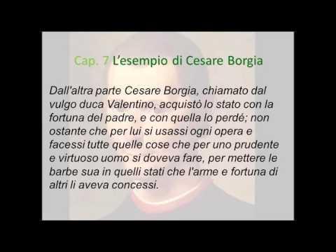 L'esempio di Cesare Borgia  ll capitolo settimo del Principe