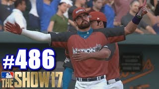 HRD & ASG! | MLB The Show 17 | Road to the Show #486