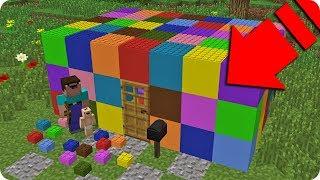 BEBÉ NOOB CONSTRUYE CASA DE LEGO TROLL EN MINECRAFT 😂