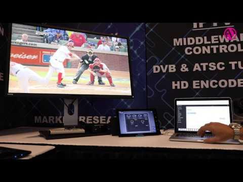 Azure demonstrates video content management system