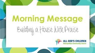 Sermon on Sunday Oct 23 2016