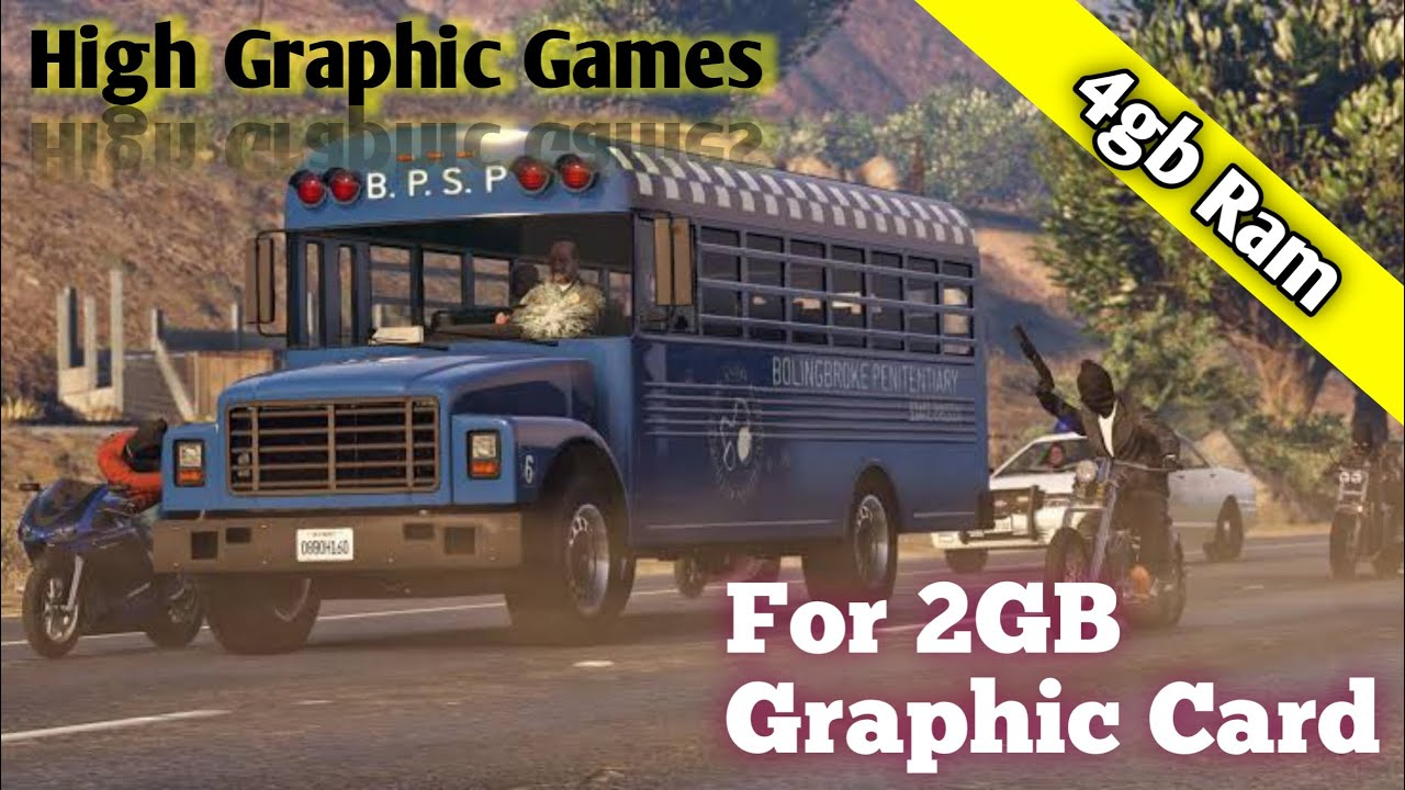 Download Top 5 Games For 2GB Graphics Card Pc   Low End Pc With Cheap Graphics Card Games