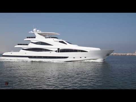 AS 130 Luxury Super Mega Yacht Manufactured By Al Shaali Marine