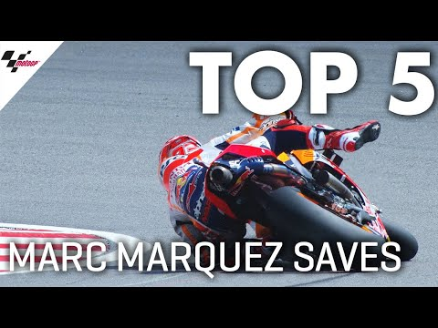 Marc Márquez' Top 5 Saves in 2019