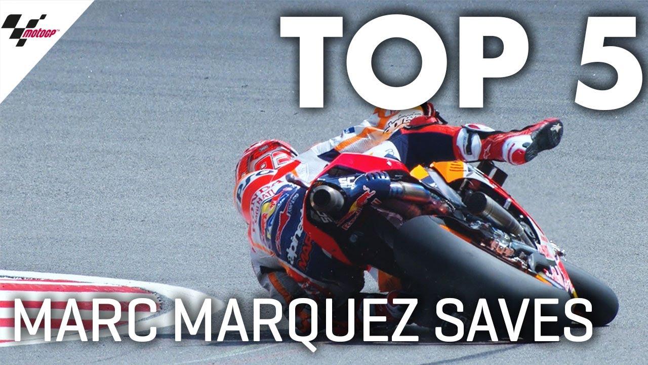 Download Marc Márquez' Top 5 Saves in 2019