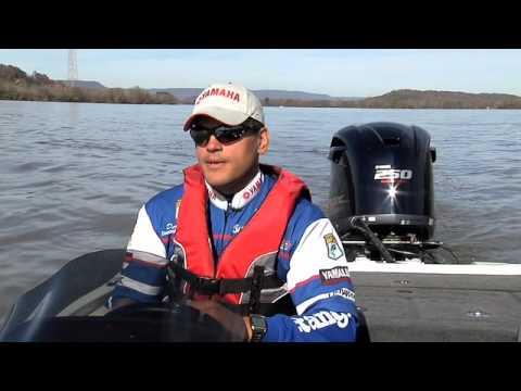 Yamaha Pro Angler & BassMaster Elite Series Pro Dave Wolak on V MAX SHO