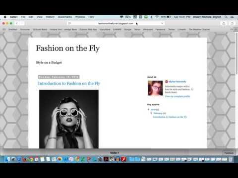 Creating Interactive Blog and Visual Blog Post