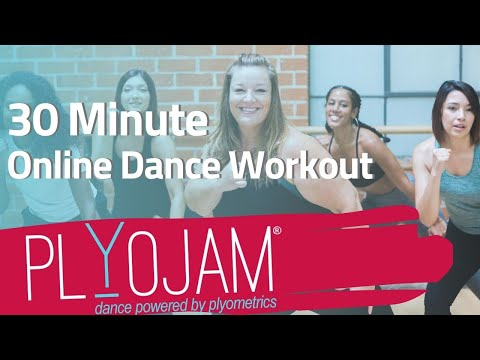 30 Minute Online Dance Workout| PlyoJam | Online Dance Fitness