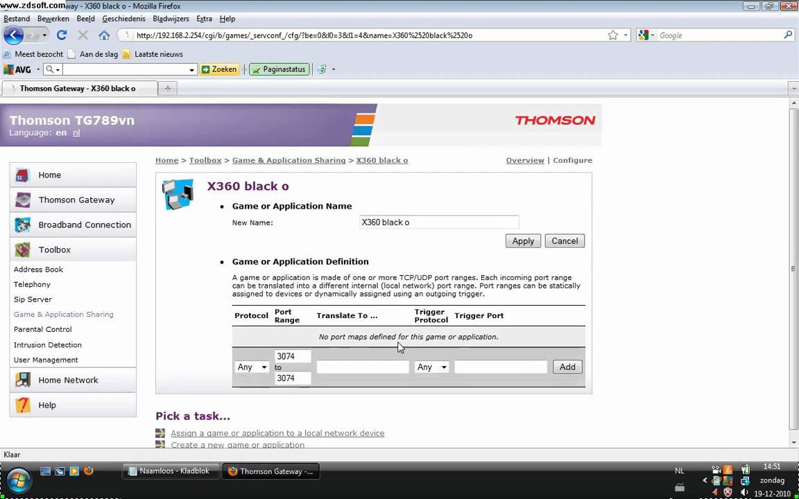 telia gateway thomson tg789 manual