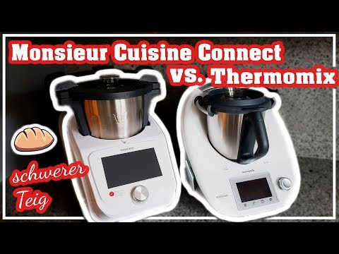 Monsieur Cuisine Connect Vs Thermomix Lidl Küchenmaschine Test