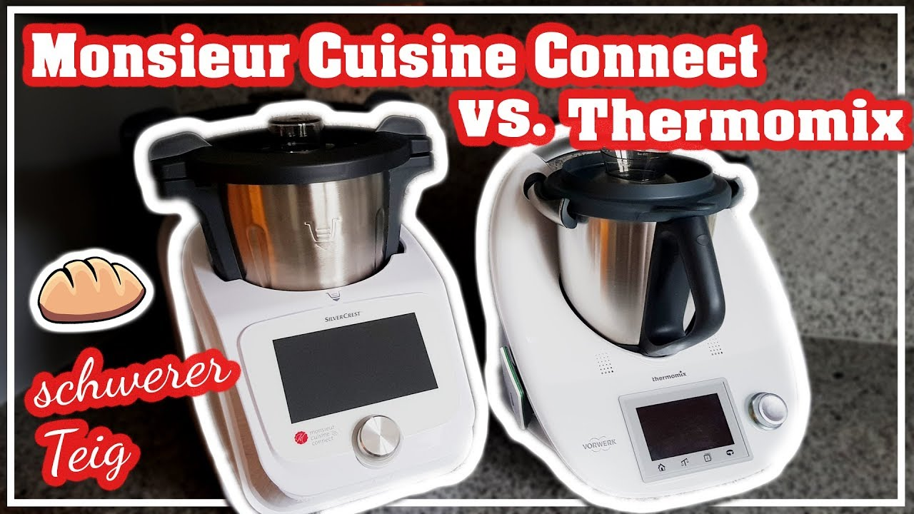 Monsieur Cuisine Connect Vs Thermomix Lidl Kuchenmaschine Test