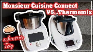 Monsieur Cuisine Connect vs. Thermomix | Lidl Küchenmaschine Test | Klon?