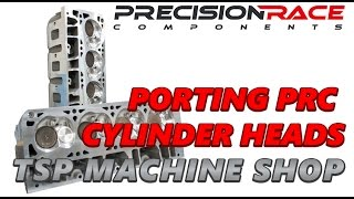 Texas Speed & Performance Engine Machining Facility - Porting LS6 Heads