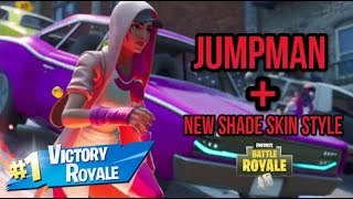 FORTNITE New Shade Skin Styles + Jumpman