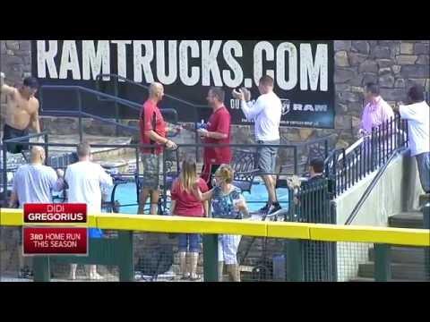 Baseball Pool Shot Home Runs