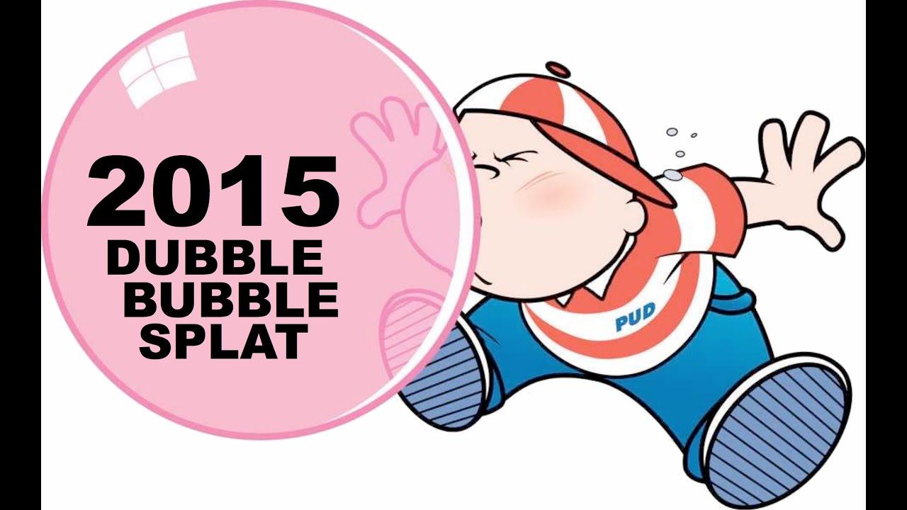 dubble bubble splat 2015 youtube rh youtube com double bubble logo