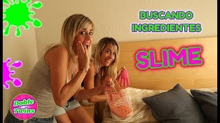 BUSCANDO INGREDIENTES PARA HACER SLIME!! Find Your Slime Ingredients Challenge!!