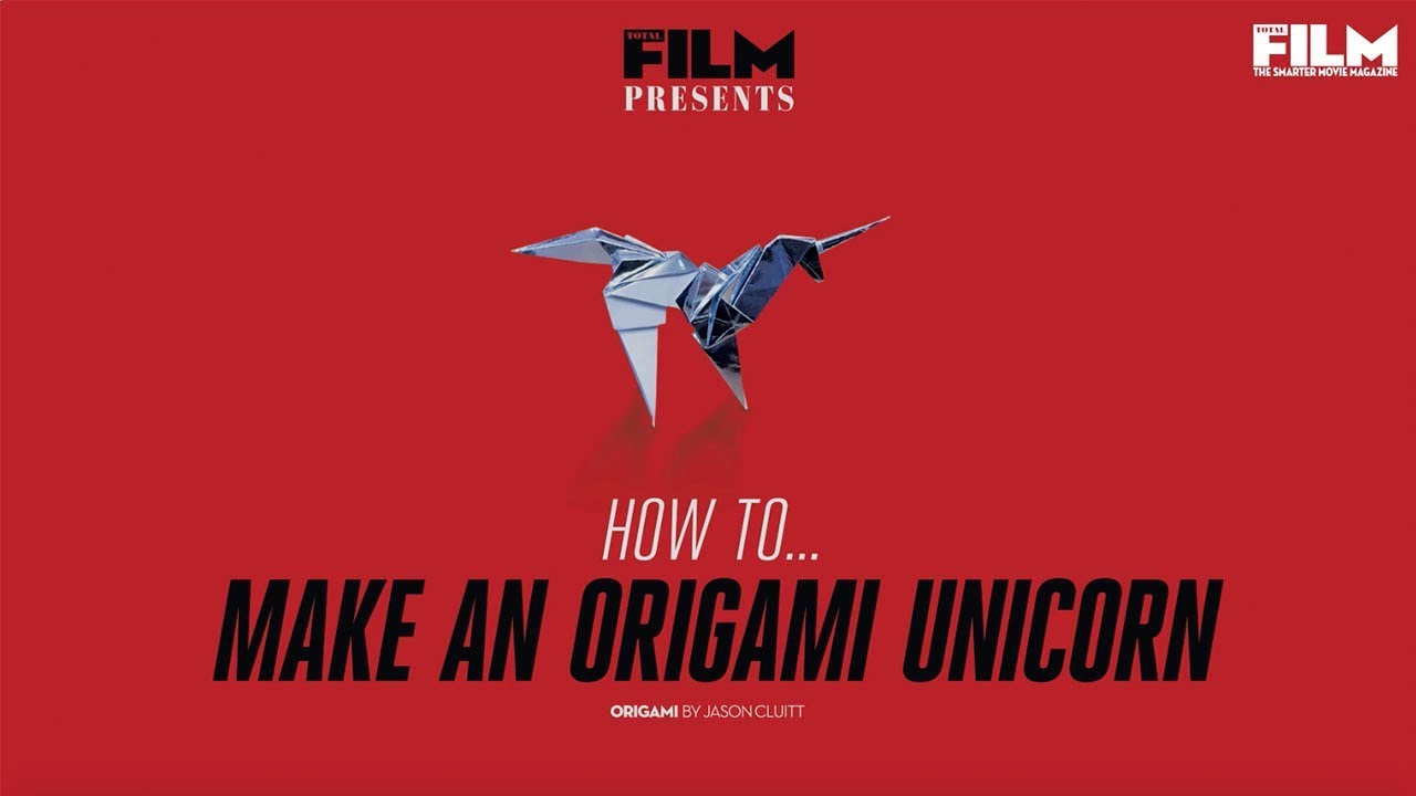 How To Make An Origami Unicorn From Blade Runner Youtube