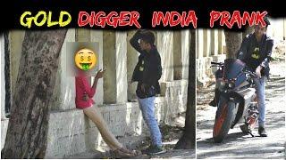 Gold Digger Prank (GONE EXTREMELY RIGHT)   KTM Prank In India   Navneet Bhardwaj   2017