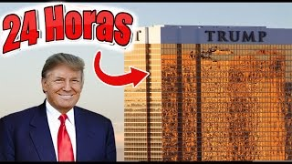 24 HORAS EN LA TORRE TRUMP RETO TERMINA MAL (HotSpanish Vlogs)