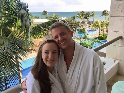 Kelli & Braden Honeymoon Excellence Playa Mujeres, Mexico