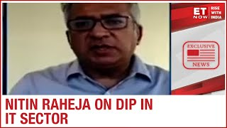 Will the dip in IT sector continue till U.S Elections? | AQF Co-founder Nitin Raheja to ET Now