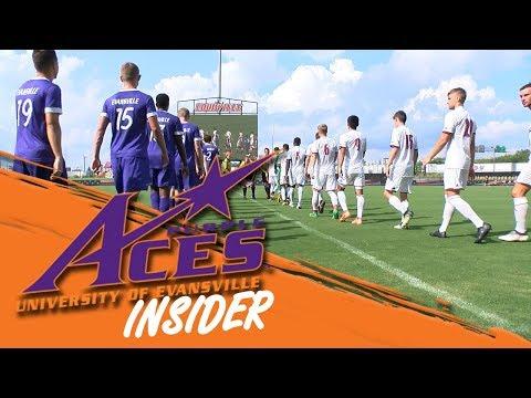 ACES INSIDER   Evansville UL Men's Soccer