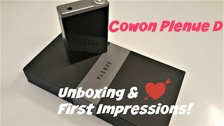 Unboxing & First Impressions of Cowon Plenue D!