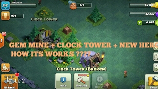 Clash of clans full update details | hidden features In coc | about builder hall and gem mine|