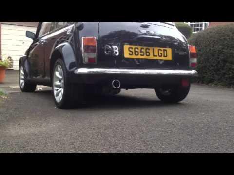 Rover Mini Cooper sportpack exhaust