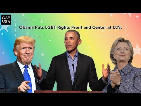 Gay USA: Obama Puts LGBT Rights Front and Center at U.N.