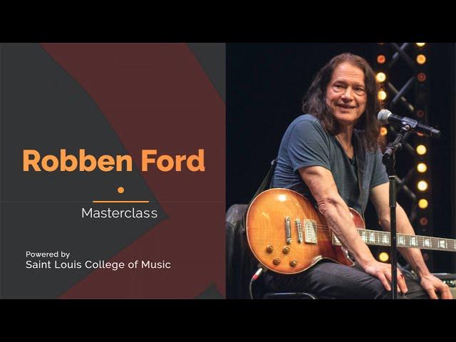 Robben Ford | Masterclass@Saint Louis | Auditorium Parco della Musica