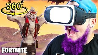 FORTNITE IN VIRTUAL REALITY! 360 º