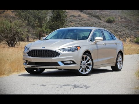 Ford Fusion Platinum 2017 Car Review