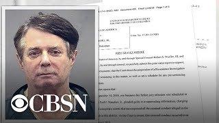 Mueller accuses Paul Manafort of lying to FBI after taking plea deal
