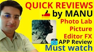 Photo Lab Picture Editor FX app review - Best for photo effects