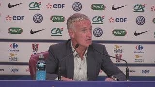 Benzema doesn't deserve France recall - Deschamps