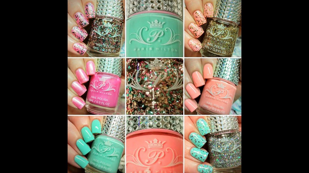Paris Hilton Nail Polish Collection \