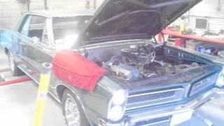 SV ENGINEERING 1965 GTO ENGINE BREAK IN DYNO DAY