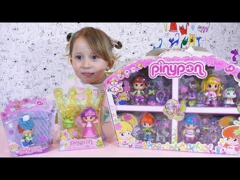 PINYPON Lutkice Figurice / Nasa kolekcija igracaka Pinypon dolls Opening & Collection Video za decu