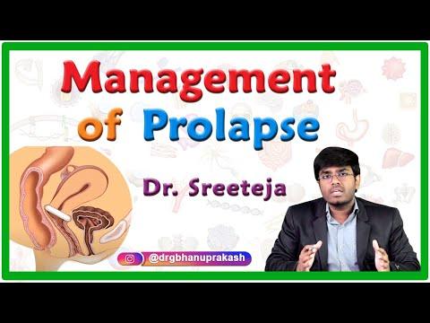 Management Of Prolapse || Obstetrics U0026 Gynecology