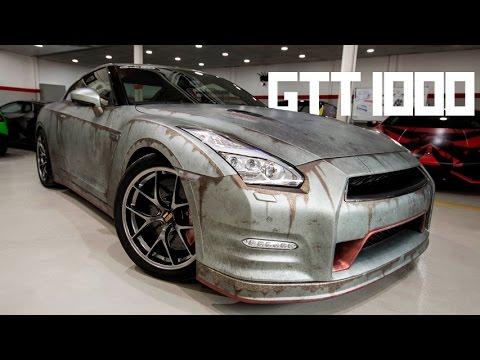nissan gt-r r35 gtt-1000 (1000 hp) - youtube