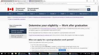 Право на работу в Канаде после обучения (PGWP), после каких университетов или колледжей